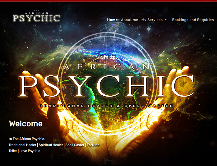 "<span style=""font-size: 12pt;"">The African Psychic - <a title=""Website design by Nabis Visual Design"" href=""https://www.theafricanpsychic.com"" target=""_blank""> Visit Site</a></span>"